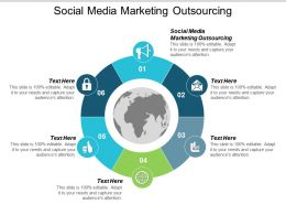Social Media Marketing Outsourcing Ppt Powerpoint Presentation Slides Objects Cpb