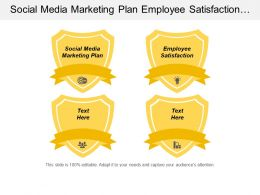 Social Media Marketing Plan Employee Satisfaction Employees Benefits Plan