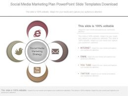 Social Media Marketing Plan Powerpoint Slide Templates Download