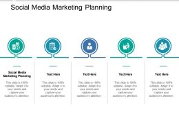 Social Media Marketing Planning Ppt Powerpoint Presentation Summary Clipart Images Cpb