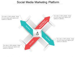 Social Media Marketing Platform Ppt Powerpoint Presentation Gallery Picture Cpb