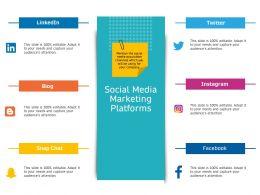Social Media Marketing Platforms Instagram Ppt Powerpoint Presentation Outline Layout