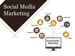Social Media Marketing Powerpoint Templates Microsoft