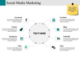 Social Media Marketing Ppt Examples Slides