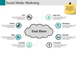 Social Media Marketing Ppt Infographic Template