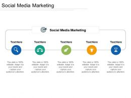 Social Media Marketing Ppt Powerpoint Presentation Gallery Guidelines Cpb