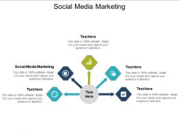 Social Media Marketing Ppt Powerpoint Presentation Gallery Microsoft Cpb
