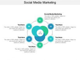 Social Media Marketing Ppt Powerpoint Presentation Gallery Slide Cpb