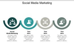 Social Media Marketing Ppt Powerpoint Presentation Infographics Shapes Cpb