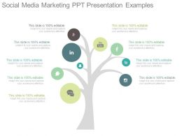 Social Media Marketing Ppt Presentation Examples