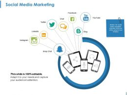 Social Media Marketing Ppt Samples
