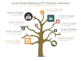 Social Media Marketing Ppt Samples Download
