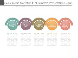 Social Media Marketing Ppt Template Presentation Design
