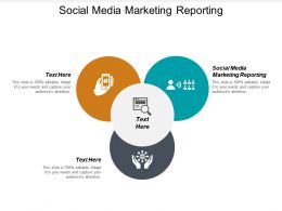 Social Media Marketing Reporting Ppt Powerpoint Presentation Icon Inspiration Cpb
