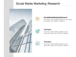 Social Media Marketing Research Ppt Powerpoint Presentation Show Styles Cpb