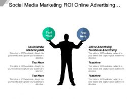 Social Media Marketing Roi Online Advertising Traditional Advertising Cpb