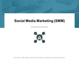 Social Media Marketing SMM Analysis Ppt Powerpoint Presentation Styles Themes