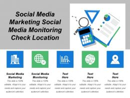 Social Media Marketing Social Media Monitoring Check Location