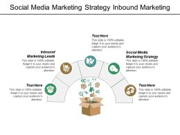 Social Media Marketing Strategy Inbound Marketing Leads Customer Expectations Cpb