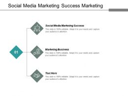 Social Media Marketing Success Marketing Business Conflict Strategies Cpb