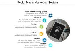 Social Media Marketing System Ppt Powerpoint Presentation Portfolio Cpb
