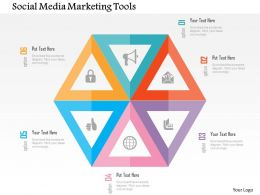 Social Media Marketing Tools Flat Powerpoint Design