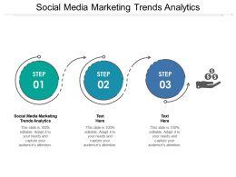 Social Media Marketing Trends Analytics Ppt Powerpoint Presentation Gallery Designs Download Cpb
