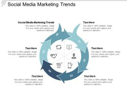 Social Media Marketing Trends Ppt Powerpoint Presentation Slides Shapes Cpb
