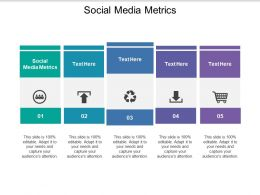 Social Media Metrics Ppt Powerpoint Presentation Summary Graphics Example Cpb