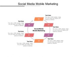 Social Media Mobile Marketing Ppt Powerpoint Presentation Templates Cpb