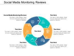 Social Media Monitoring Reviews Ppt Powerpoint Presentation Model Designs Cpb
