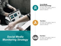 Social Media Monitoring Strategy Ppt Powerpoint Presentation Slides Portrait Cpb