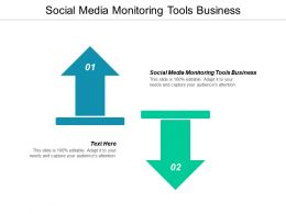 Social Media Monitoring Tools Business Ppt Powerpoint Presentation Slides Portrait Cpb