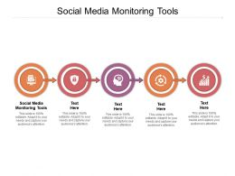 Social Media Monitoring Tools Ppt Powerpoint Presentation Example File Cpb