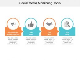 Social Media Monitoring Tools Ppt Powerpoint Presentation Slides Portrait Cpb