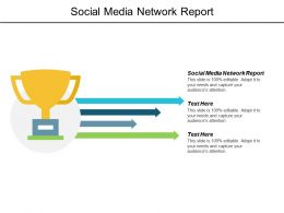 Social Media Network Report Ppt Powerpoint Presentation Layouts Designs Download Cpb