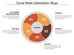 Social Media Optimization Blogs Ppt Powerpoint Presentation Model Files Cpb