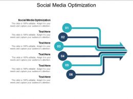 Social Media Optimization Ppt Powerpoint Presentation Gallery Shapes Cpb