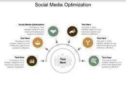 Social Media Optimization Ppt Powerpoint Presentation Show Ideas Cpb