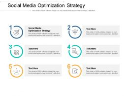 Social Media Optimization Strategy Ppt Powerpoint Presentation Inspiration Cpb
