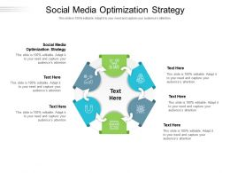 Social Media Optimization Strategy Ppt Powerpoint Presentation Template Cpb