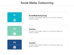 Social Media Outsourcing Ppt Powerpoint Presentation Ideas Objects Cpb