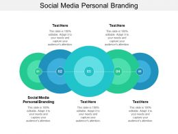 Social Media Personal Branding Ppt Powerpoint Presentation Icon Objects Cpb