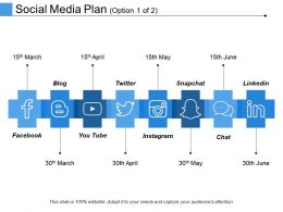 Social Media Plan Ppt Design