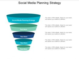 Social Media Planning Strategy Ppt Powerpoint Presentation Inspiration Portfolio Cpb
