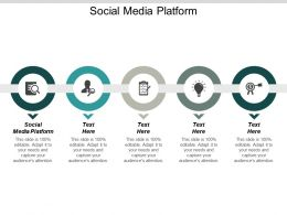 Social Media Platform Ppt Powerpoint Presentation Infographics Show Cpb