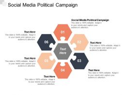 Social Media Political Campaign Ppt Powerpoint Presentation Templates Cpb