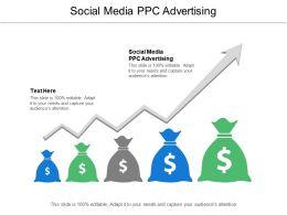 Social Media Ppc Advertising Ppt Powerpoint Presentation Ideas Topics Cpb
