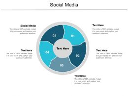 Social Media Ppt Powerpoint Presentation Icon Example Cpb