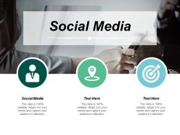 Social Media Ppt Powerpoint Presentation Show Example Introduction Cpb